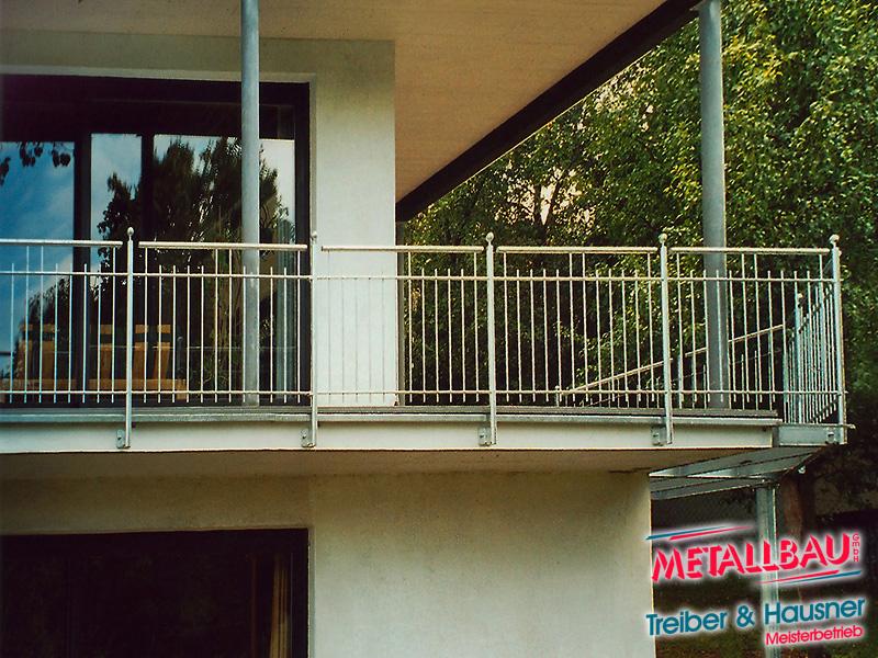 metallbau treiber hausner balkongel nder edelstahl stahl alu beschichtet. Black Bedroom Furniture Sets. Home Design Ideas